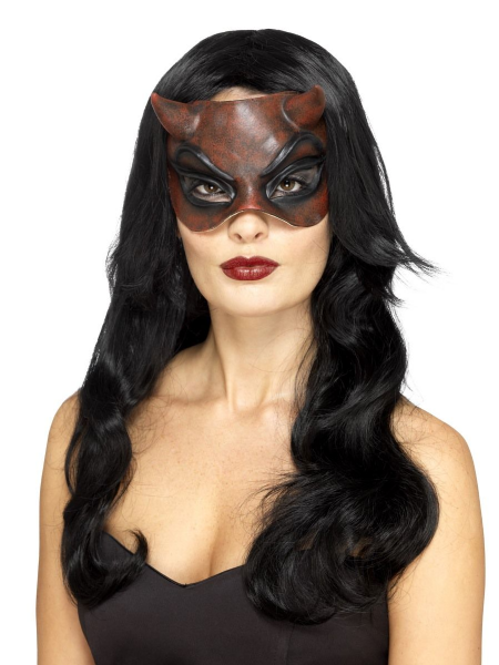 Masquerade Devil Mask - Latex